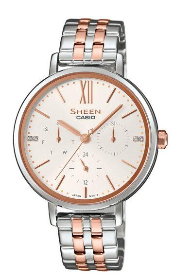 Γυναικείο Ρολόι Casio Sheen SHE-3064SPG-7AUER