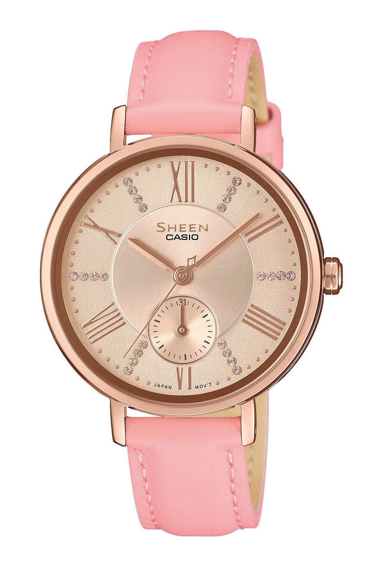 Γυναικείο Ρολόι Casio Sheen SHE-3066PGL-4AUEF