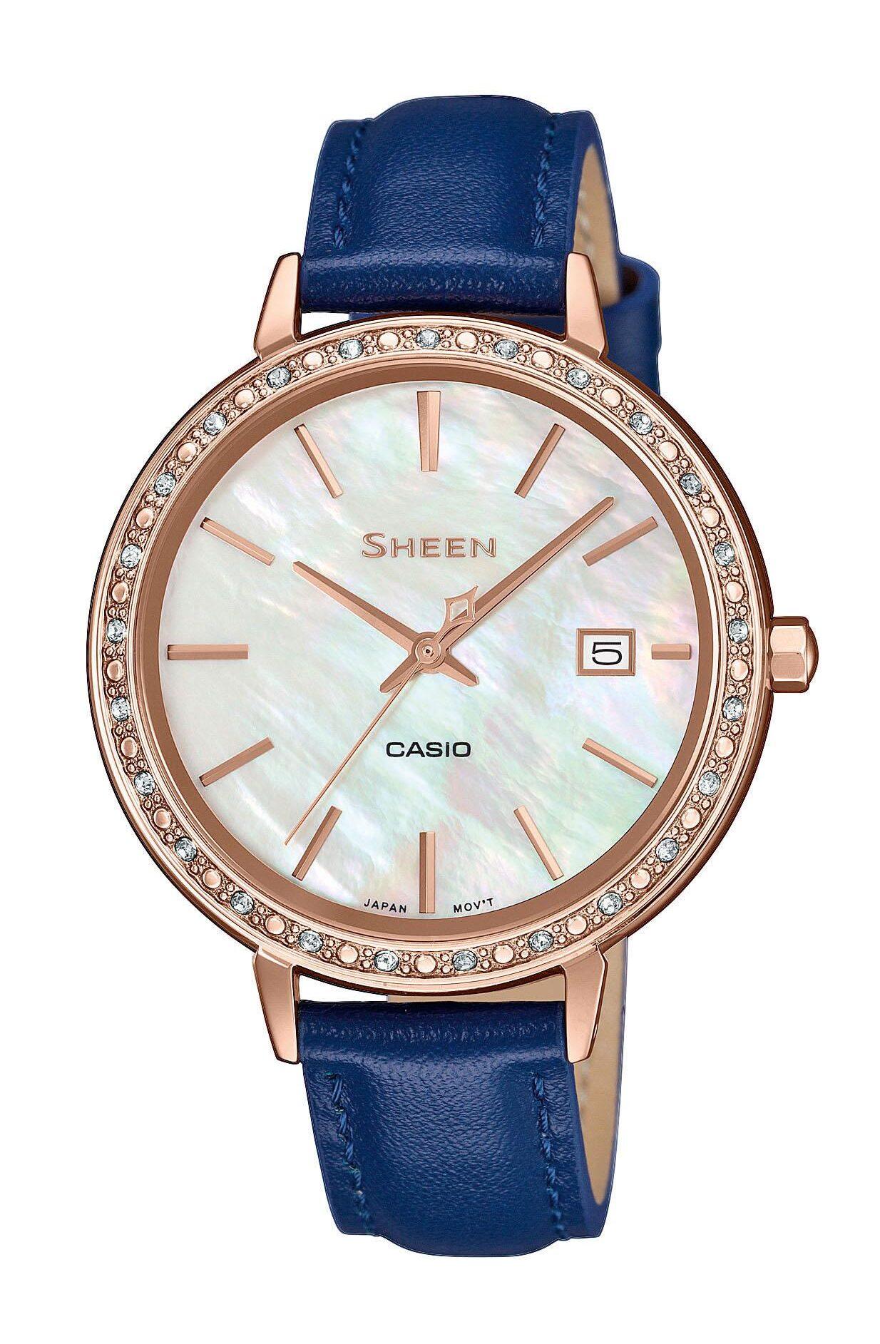 Γυναικείο Ρολόι Casio Sheen SHE-4052PGL-7AUEF