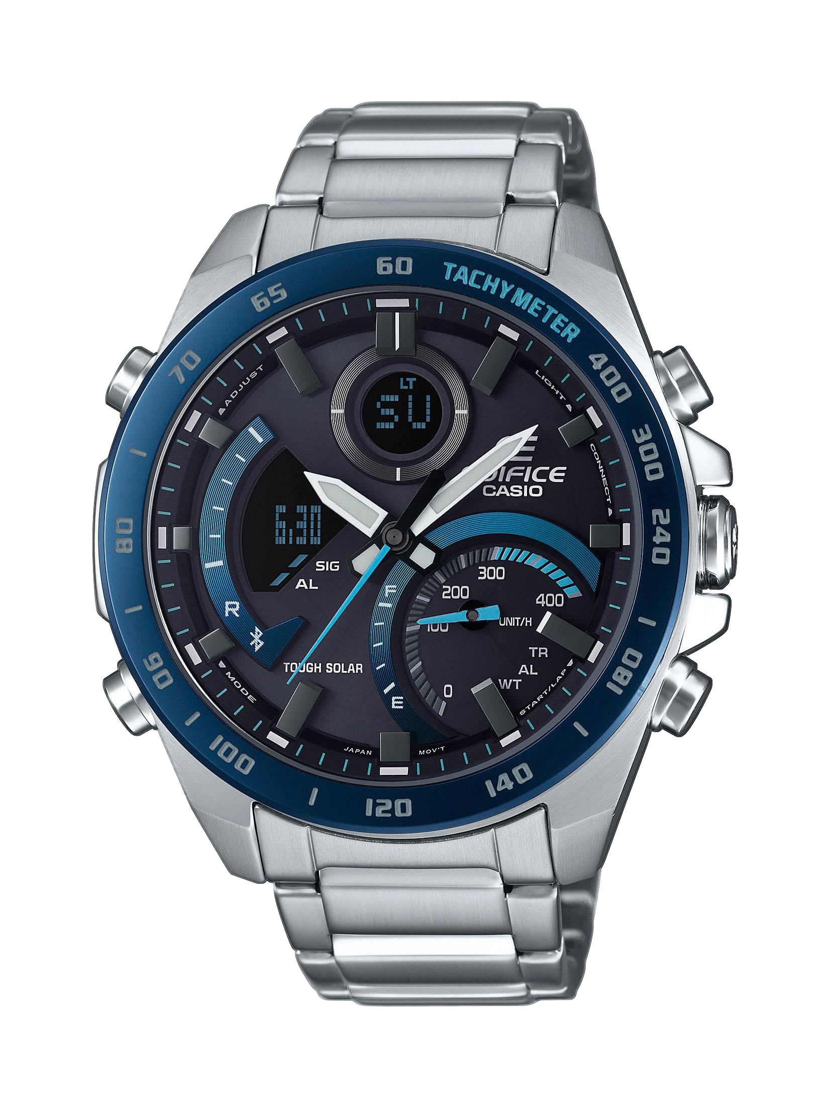 SmartWatch Ρολόι Casio Edifice Bluetooth Ηλιακό ECB-900DB-1BER