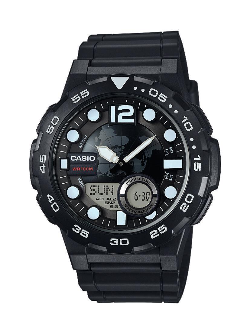 Ρολόι Casio Collection Sports AEQ-100W-1AVEF