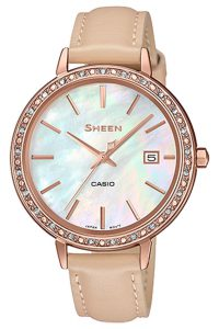 Γυναικείο Ρολόι Casio Sheen SHE-4052PGL-7BUEF