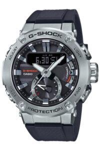 Ρολόι Casio G-SHOCK G-STEEL Bluetooth, Ηλιακή Φόρτιση GST-B200-1AER