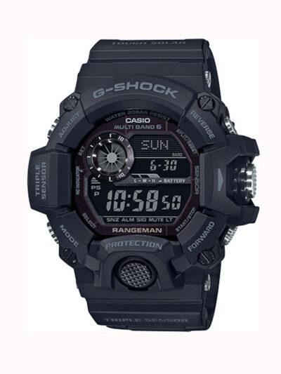 Ηλιακό Ρολόι Casio G-SHOCK RANGEMAN με τριπλό Σένσορα GW-9400-1BER