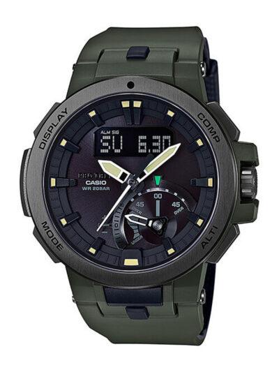 Ηλιακό Ρολόι Casio Protrek με τριπλό σένσορα PRW-7000-3ER
