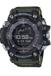SmartWatch Casio G-SHOCK RANGEMAN BLUETOOTH, GPS, NAVIGATION GPR-B1000-1BER