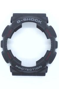 Bazel Casio g-shock Μαυρο με κοκκινα γράμματα συμβατο με GA-100