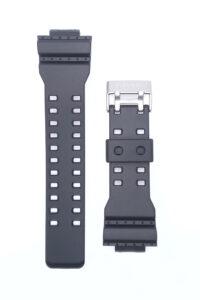 Λουράκι Casio G-shock μαυρο καούτσουκ συμβατό με GA-8900,GA-100,GA-110