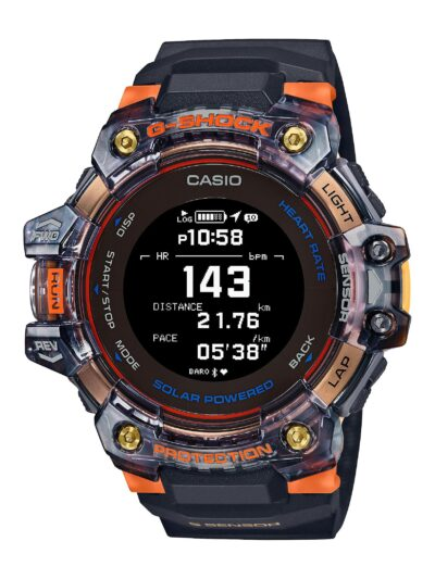 SmartWatch Casio G-SHOCK Bluetooth Ηλιακό GBD-H1000-1A4ER