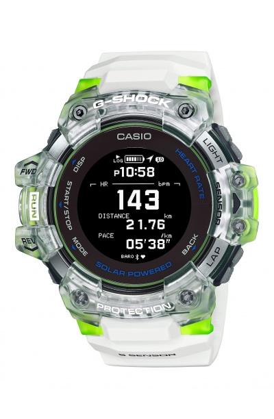 SmartWatch Casio G-SHOCK Bluetooth Ηλιακό GBD-H1000-7A9ER